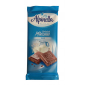 Шоколад молочный Alpinella Milk, 90г