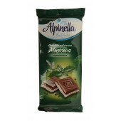 Шоколад Alpinella Peppermint, 100г